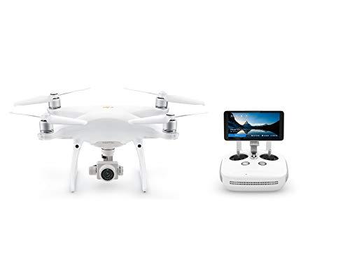 DJI Phantom 4 Pro Plus V2.0 - Drone Quadcopter UAV with 20MP Camera 1' CMOS Sensor 4K H.265 Video 3-Axis Gimbal, Remote Controller with 5.5' Screen, White (CP.PT.00000234.01)