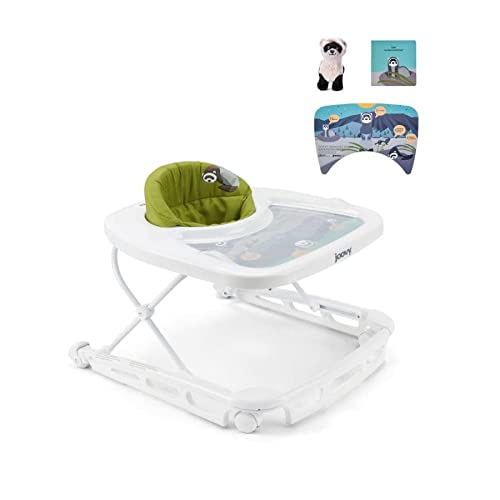 Joovy Spoon B Baby Walker with Brake, Black-Footed Ferret National Park Foundation Edition