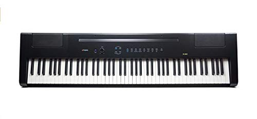 Artesia PA-88H 88-Key Weighted Hammer Action Digital Piano with Sustain Pedal and Power Supply (Black)