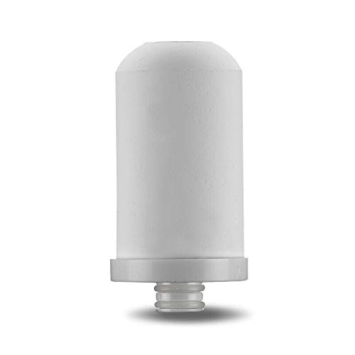 Lelekey Ceramic Water Filter Faucet Cartridge Replacement,Stage 6 ACF Kitchen Filtration for Stainless Steel Faucet Filter