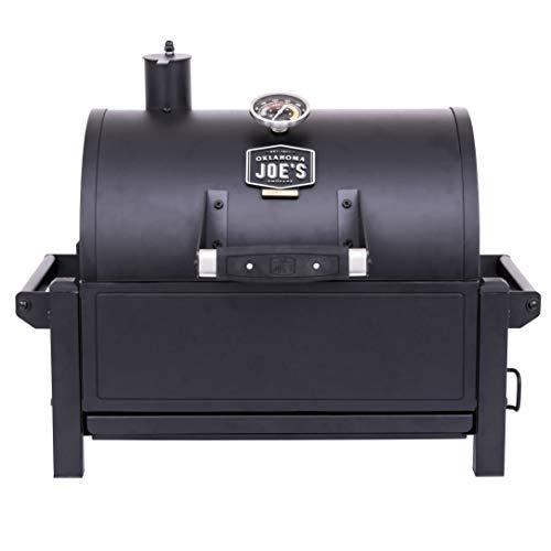 Oklahoma Joe's 19402088 Rambler Portable Charcoal Grill, Black