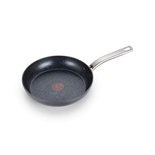 T-fal Heatmaster Nonstick Thermo-Spot Heat Indicator Fry Pan Cookware, 10-Inch, Black - As Seen on TV