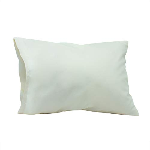 Golden Down, Feather Travel & Camping Pillow: Hypoallergenic, Small, Professional with Healthy Materials Available in 3 of The Best Material: Microfiber, Feather & Down 12'x16' - White Duck Feather