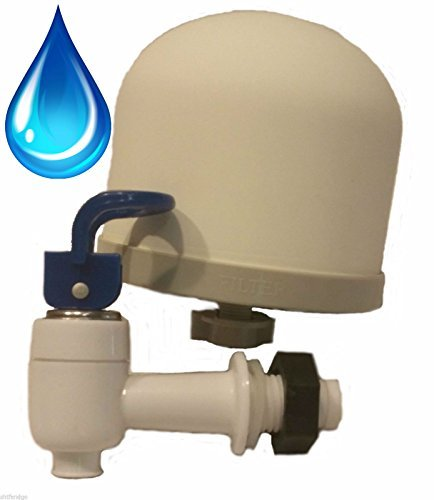 SHTFandGO Gravity Water Filter Kit for DIY Purifier, Includes .2 Micron Ceramic Filter, Pre Filter, Dispenser, and Instructions