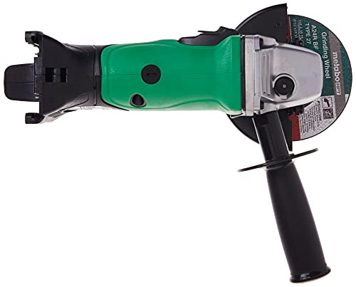 Metabo HPT 18V MultiVolt 4-1/2-Inch Cordless Angle Grinder Slide Switch w/Lock-On Tool Only - No Battery Lifetime Tool Warranty G18DSL2Q4