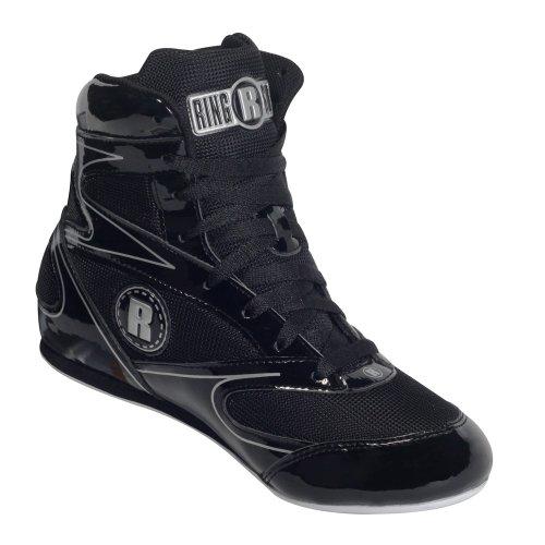 Ringside Diablo Wrestling Boxing Shoes, 2, Black