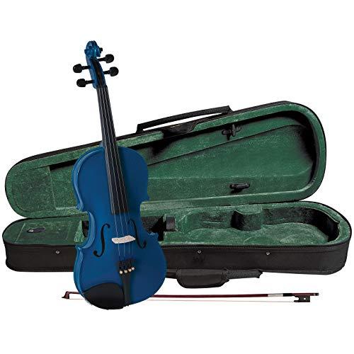 Cremona SV-75 Premier Novice Violin Outfit - Sparkling Blue - 3/4 Size