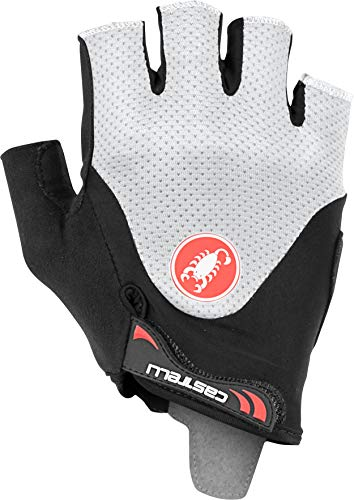 Castelli Cycling Arenberg Gel 2 Glove for Road and Gravel Biking l Cycling - Black Ivory - X-Large