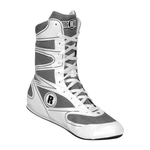 Ringside Undefeated Wrestling Boxing Shoes, 11, White
