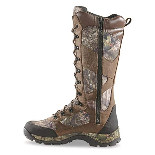 Guide Gear Men's Country Pursuit 16' Waterproof Insulated Side-Zip Hunting Boots, 800-gram, MOBU Country, 10D (Medium)