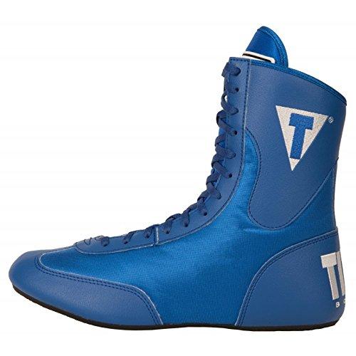 Title Speed-Flex Encore Mid Boxing Shoes, Blue, 6
