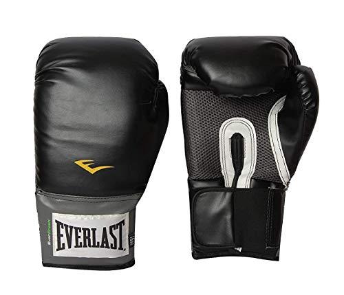 Everlast Pro Style Boxing Training Gloves (Black, 16 oz.)