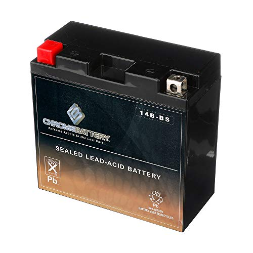 Chrome Battery YT14B-BS Chrome lead_acid_battery