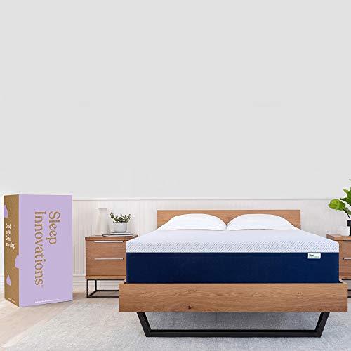 Sleep Innovations Shiloh 14-inch Memory Foam Mattress, King, White