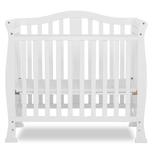 Dream On Me, Addison 4-in-1 Convertible Mini Crib, White