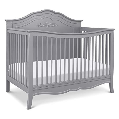 DaVinci Fiona 4-in-1 Convertible Crib in Grey, Greenguard Gold Certified