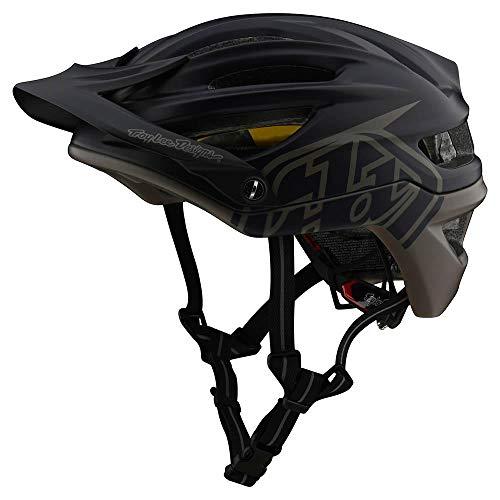 Troy Lee Designs Adult | Trail | All Mountain | Mountain Bike A2 MIPS Decoy Helmet (XL/XXL, Navy/Walnut)