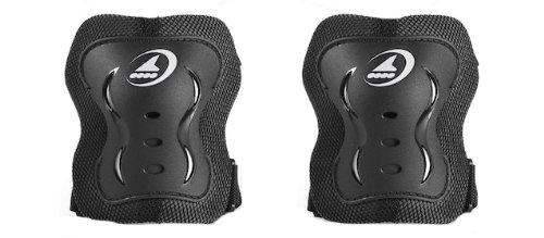 Rollerblade Bladegear XT Elbow Pad Protective Gear, Unisex, Multi Sport Protection, Black