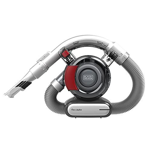 BLACK+DECKER Flex Car Vacuum, 12V Corded (BDH1200FVAV)