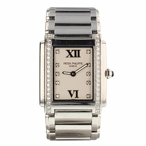 Patek Philippe Twenty 4 4910/10A-011 Women's Quartz Stainless Steel Watch 25mm