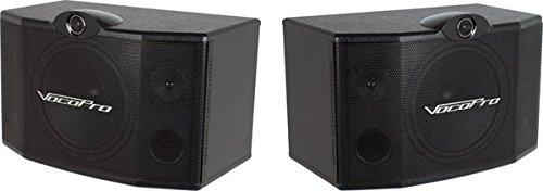 VocoPro SV-500 10-Inch 3-Way Vocal Speaker (Pair)