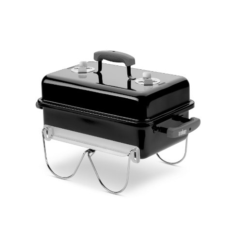 Weber 121020 Go-Anywhere Charcoal Grill,Black,14.5' H x 21' W x 12.25' L