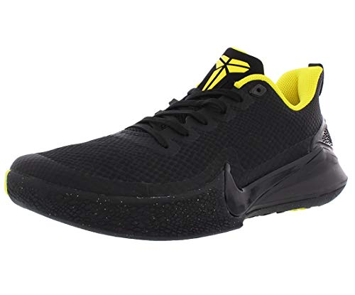 Nike Men's Kobe Mamba Focus Basketball Shoe Black/Anthracite/Opti Yellow Size 10.5 M US