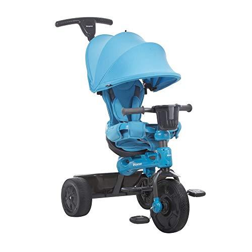 Joovy Tricycoo 4.1 Kid's Tricycle, Push Tricycle, Toddler Trike, Blue