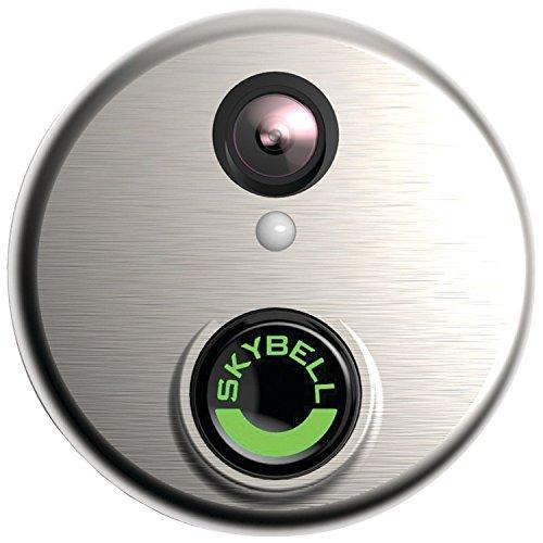 SkyBell SH02300SL HD WiFi Video Doorbell, Silver