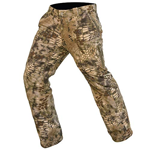 Kryptek Vellus Camo Hunting Pant (Vellus Collection), Highlander, 2XL
