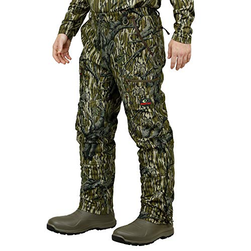 Mossy Oak Sherpa 2.0 Fleece Lined Camo Hunting Pants for Men, Hunting Clothes, XX-Large, Original Treestand