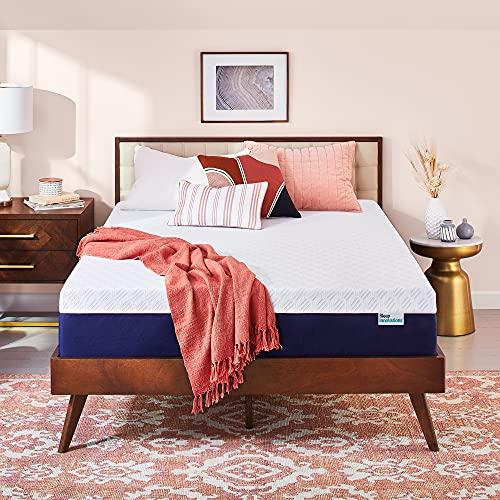 Sleep Innovations Shiloh Medium Memory Foam Mattress, King, 14 Inches