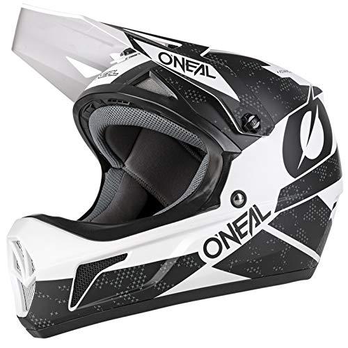O'Neal Sonus Deft Mountain Bike Helmet Olive/Orange MD