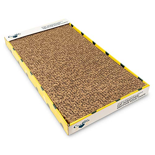 Cosmic OurPets Far and Wide Cat Scratcher Cat Toys (Cat Toys for Indoor Cats, Catnip Toys, Cat Gifts & Cat Toys Interactive) [Includes Cosmic Catnip-100% Premium North-American Grown]