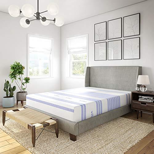 Vibe Gel Memory Foam 12-Inch Mattress | CertiPUR-US Certified | Bed-in-a-Box, King