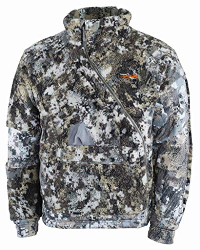 SITKA Men's Windstopper Insulated Hunting Fanatic Jacket, Optifade Elevated II, L