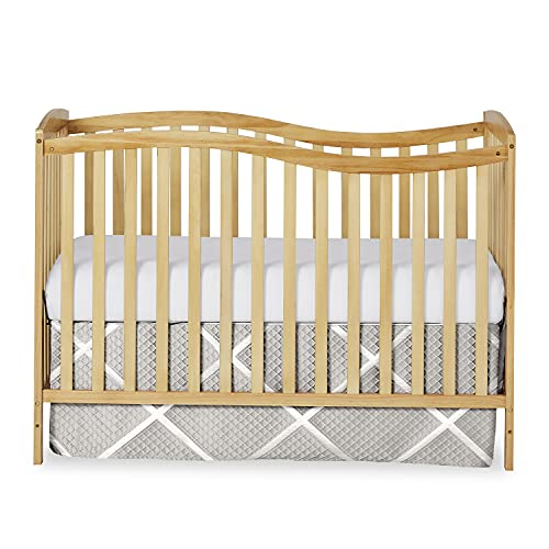 Dream On Me Chelsea 5-in-1 Convertible Crib, Natural , 53x29x38 Inch (Pack of 1)