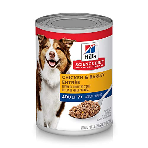 Hill's Science Diet Wet Dog Food, Chicken& Barley Pack of 12
