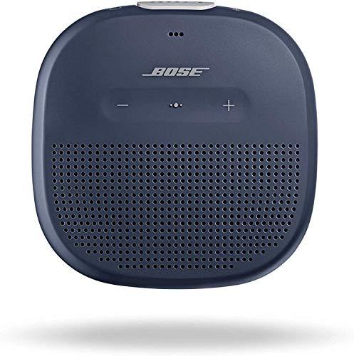 Bose SoundLink Micro: Small Portable Bluetooth Speaker (Waterproof), Midnight Blue