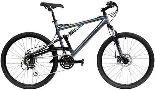 2021 Gravity FSX 1.0 Dual Full Suspension Mountain Bike with Disc Brakes Aluminum Frame