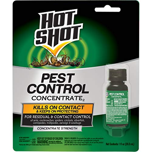Hot Shot Pest Control Concentrate, Makes Up To 2 Gallons, 1-Ounce