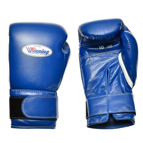 WINNING Training Boxing Gloves 16oz (Blue) MS600B